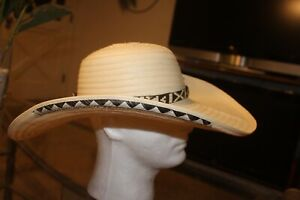 COLOMBIAN HAT~~FINO SOMBRERO VUELTIAO~~COLOMBIA, CUSTOM DESIGN S-M  OR L