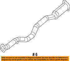 Jeep CHRYSLER OEM 14-18 Cherokee 3.2L-V6 Exhaust-Front Pipe 68105882AE