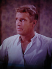 "GEORGE PEPPARD, 4"" x 5"" Transparency - in ""Operation Crossbow"" - from 1960's"