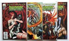 Secret Invasion Inhumans #1-4 Full Set (2008 Marvel)