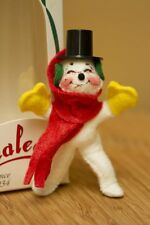 """Annalee 3"""" Snowman Tree Ornament, With Tags"""