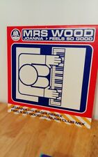 Mrs Wood Joanna Feels So Good 12 inch Vinyl Dance Record