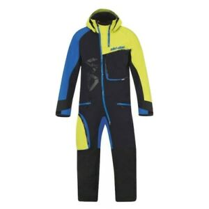 SKI DOO MENS REVY NON INSULATED ONE PIECE MONO SUIT 4407771484 2XL GREEN BLUE