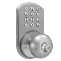 Keyless Digital Door Knob House Lock Keypad Home Entry Code Password Combination