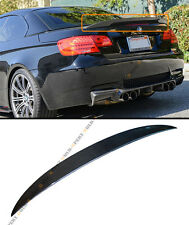 FOR BMW E93 M3 2DOOR COUPE CONVERTIBLE HIGH KICK CARBON FIBER TRUNK SPOILER WING