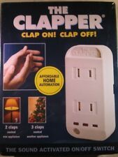 The Clapper Wireless Sound Activated On/Off Switch (Cl840R12) As Seen On Tv! Nib