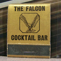 Vintage Matchbook Cover T6 Eagle River Wisconsin Falcon Cocktail Bar Bird Beer