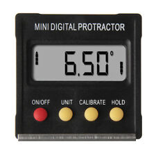 Mini Digital Protractor Inclinometer Angle Meter 360˚ Slope Angle Upright Magnet