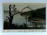 C. 1907 Valhalla New York Lake Kensico Undivided Back Vintage Postcard