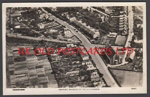 Middlesex - ASHFORD Aerial view showing St. Hilda's Church - Real Photo