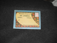 1930's Souvenir Postcard Folder St. John's Quebec Canada