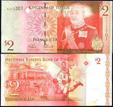 Tonga - 2 Paanga - 2009  issue - UNC currency note