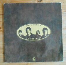 The Beatles Love Songs, vinyl, 2LP, EMI Records 1977