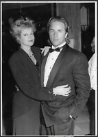 ~ Melanie Griffith Don Johnson 1980s Original Stamped Candid Press Photo