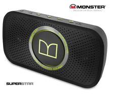 Monster SuperStar HD Wireless Bluetooth Portable Speaker for iPhone, Samsung