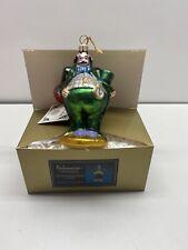 "Kurt Adler Polonaise Wizard of Oz ""Munchkin Mayor"" Glass Ornament Ap1191"