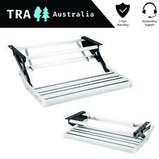 CARAVAN STEP SINGLE ALUMINIUM PULL OUT - RV PARTS ACCESSORIES STEPS FAN