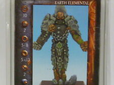 Rackham Confrontation ELEMENTALS FAMILIAR EARTH ELEMENTAL  Hordes WHFB **RARE**