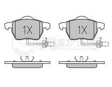 025 230 1820/W MEYLE Brake pad set fit WVA