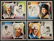 Timbre GRENADE / Stamp GRENADA - Yvert et Tellier n°380 à 383 n** (Cyn22)
