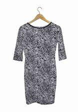 NEW! CARMELA WOMEN'S DRESS (BLACK/WHITE, SIZE MEDIUM)