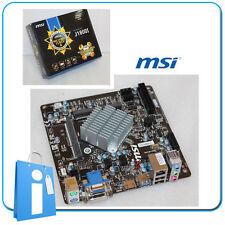 Placa base Mini ITX miTX MSI J1800I intel Dual Core J1800 con Accesorios