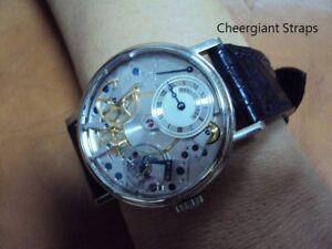 BREGUET crocodile strap watch band Made In Taiwan Cheergiant straps 寶璣鱷魚手工錶帶訂製