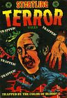 Startling Terror Tales 14 Comic Book Cover Art Giclee Reproduction on Canvas