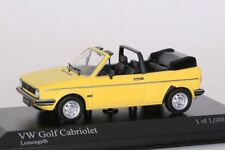 VW Golf Cabriolet 1980 gelb Minichamps 1:43 NEU/OVP