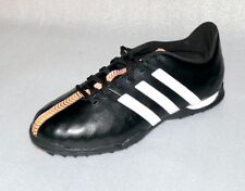 adidas B40878 11 Nova TF J Leder schuhe Fußball Soccer 36 2/3 UK 4 Schwarz Weiß