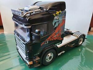 Tamiya 1/14 SCANIA R470 RC Truck - sound & lights, alloy wheels + many upgrades