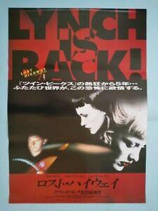 Lost Highway  Japan original B2 poster 1997 David Lynch NM