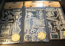 Graphic 45 Vintage Hollywood Cling Stamp Set 3 of 3