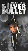 Silver Bullet (VHS) 80s Werewolf Horror Stephen King Corey Haim Gary Busey