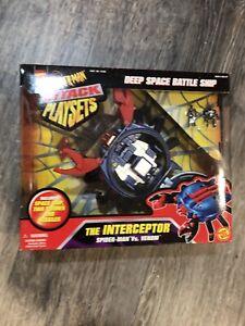 Vintage Marvel Spiderman vs Venom The Interceptor Attack Playset Toy Biz New
