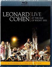 LEONARD COHEN: LIVE AT THE ISLE OF WIGHT 1970 (Blu-ray Disc) NEU+OVP