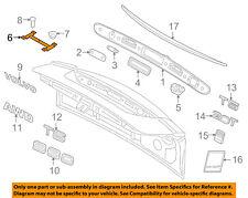 VOLVO OEM 01-09 S60-License Plate Bracket Mount Holder 31391626