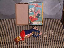 TPS TIN CLIMBING PIRATE W/ORIGINAL STRING & ORIGINAL BOX. WORKS PERFECT T.P.S.