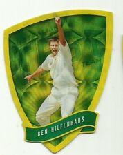 2009/10 Select Cricket Australia DIE CUT FDC6 BEN HILFENHAUS TEST TEAM CARD ACA