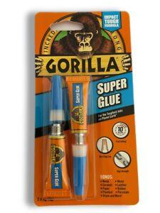 6x Gorilla Super Glue 2x3gm, Waterproof ,Strong, Multi-Purpose, Bind anything