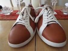 Rare NWOB 11.5 M Lacoste Sport Crocodile Embossed Leather Sneakers