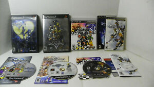 PS2 PSP Kingdom of hearts Video Game Lot