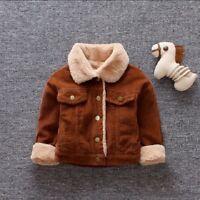 Winter Infant Baby Boys Clothes Warm Cotton Coats Kids Boy Jacket Coat Outerwear