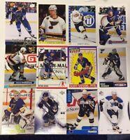 ST LOUIS BLUES 50 Different Card Team Lot HULL PRONGER TARASENKO  + 1990-2015