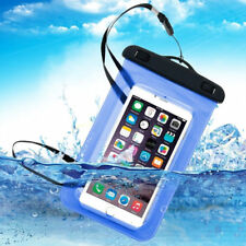Genuine Universal Underwater Waterproof Dry Case Bag Pouch for Mobile Phone Ipx8 Blue