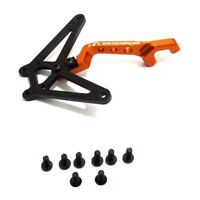Hot Racing AEX12GX03 Axial EXO Aluminum and Carbon Fiber Front Chassis Brace