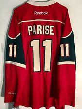 Reebok Premier NHL Jersey Minnesota Wild Zach Parise Red sz 2X
