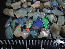 Australian Lightning Ridge Opal Chips 60 cts Rough J 251