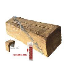 2 Meter Deckenbalken 130x115mm - Dekorbalken - PU-Balken - Holzimitat Eiche hell