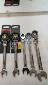 5  New Assorted Combination FLEX Ratcheting Wrench  GEARWRENCH